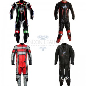 Custom Made MV Agusta Leather Motorcycle Suit